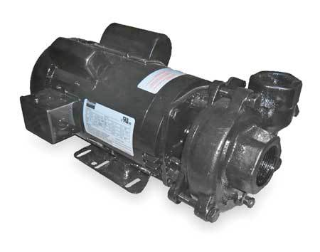 Cast Iron 2 HP Centrifugal Pump 115/208-230V