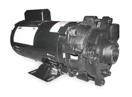 Cast Iron 1-1/2 HP Centrifugal Pump 115/208-230V