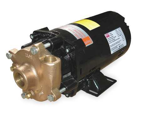 Bronze/Brass 1-1/2 HP Centrifugal Pump 208-230/460V