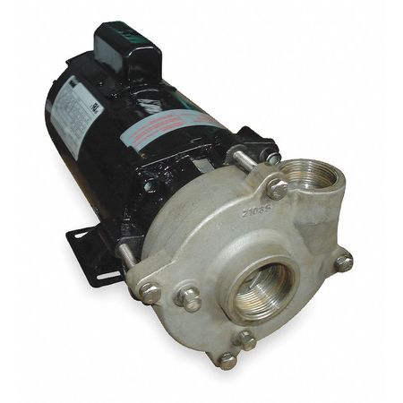 Stainless Steel 1 HP Centrifugal Pump 115/230V