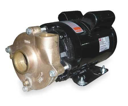Bronze/Brass 1-1/2 HP Centrifugal Pump 115/208-230V