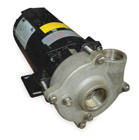 Stainless Steel 3/4 HP Centrifugal Pump 208-230/460V
