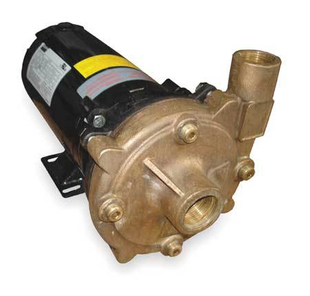 Bronze 3/4 HP Centrifugal Pump 208-230/460V