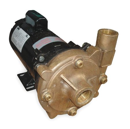 Bronze 1-1/2 HP Centrifugal Pump 115/230V
