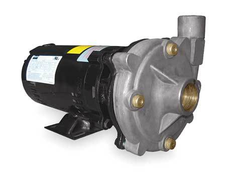 Stainless Steel 1-1/2 HP Centrifugal Pump 208-230/460V