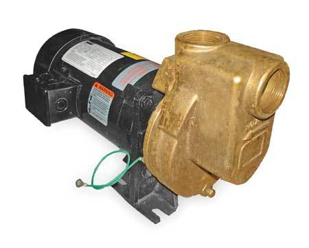 Centrifugal Pump, 3/4hp, 3 Ph, 208-230/460V