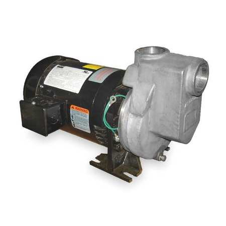 Centrifugal Pump, 2 HP, 3 Ph,  208-230/460V