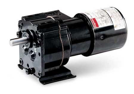 AC Gearmotor, 100 rpm, TEFC, 115V
