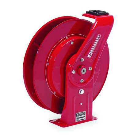 "3/8"" x 50 ft. Spring Return Hose Reel 4500 psi"