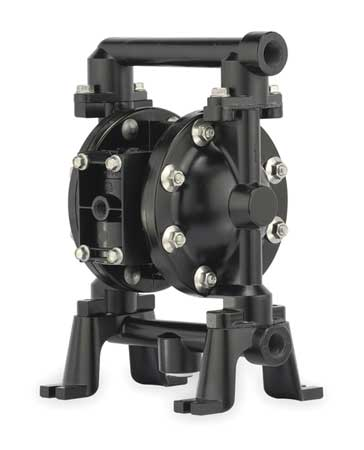 "1-1/2"" Aluminum Air Double Diaphragm Pump 75 GPM 180F"