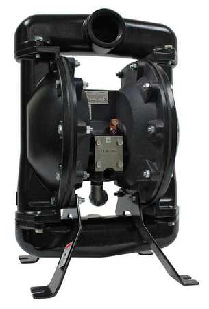 "2"" Aluminum Air Double Diaphragm Pump 75 GPM 180F"