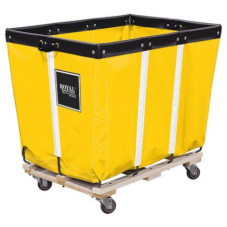 L ROYAL BASKET TRUCK G06-YYW-PMA-3UNN Basket Truck,6 Bu Cap.,Yellow,30 In