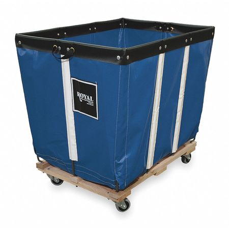 Basket Truck, 10 Bu. Cap., Blue, 36 In. L