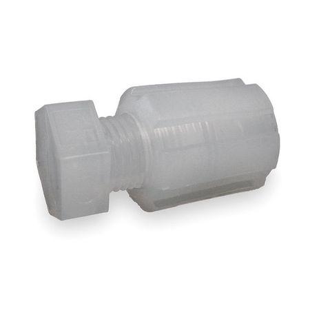 Tubing Plug, PFA,  PTFE,  ETFE, Comp, 1/4In