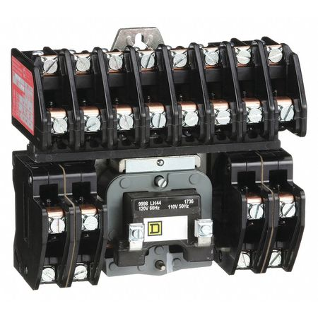 120VAC Electrically Held Lighting Contactor 12P 30A