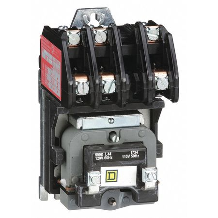 120VAC Electrically Held Lighting Contactor 3P 30A