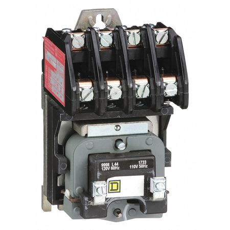 120VAC Electrically Held Lighting Contactor 4P 30A
