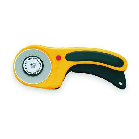 Ergonomic Rotary Cutter, 60mm Tungsten