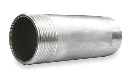 Rigid Conduit Nipple, 2 In x 6, Al