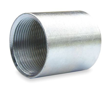 Rigid Conduit Coupling, 2 In, Steel