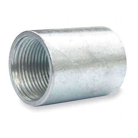 Rigid Conduit Coupling, 1 In, Steel