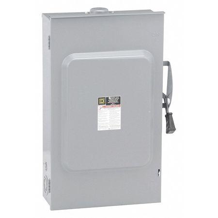 200 Amp 240VAC Single Throw Safety Switch 2P