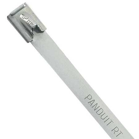 Cable Tie, Standard, 10.6 in, Silver, PK50