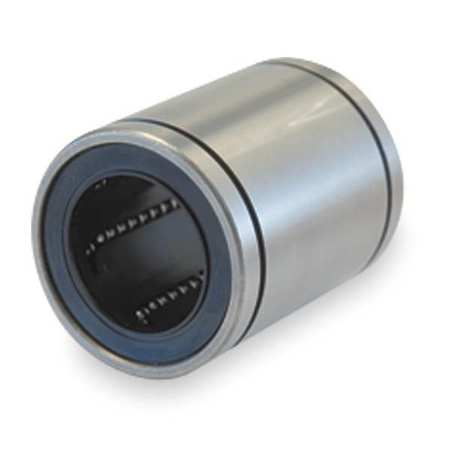 Ball Bushing Bearing, Closed, Bore 1/4 In
