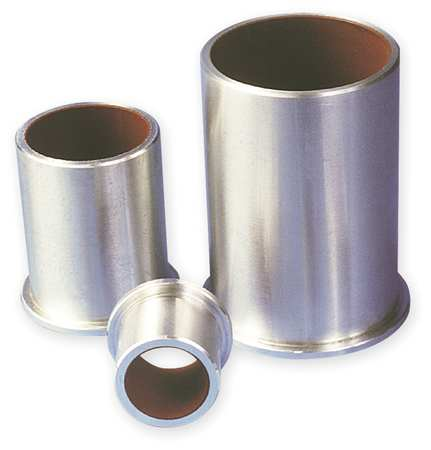 Linear Sleeve Flange Bearing, ID 3/4 In