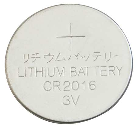 Coin Cell, 2016, Lithium, 3V