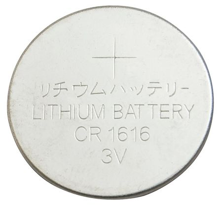 Coin Cell, 1616, Lithium, 3V