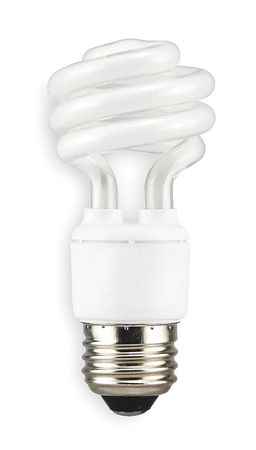 LUMAPRO 11W,  T2 Screw-In Fluorescent Light Bulb