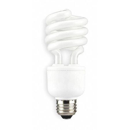 LUMAPRO 20W,  T2 Screw-In Fluorescent Light Bulb,  Min. Qty 6
