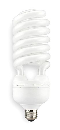 LUMAPRO 55W,  Spiral Screw-In Fluorescent Light Bulb