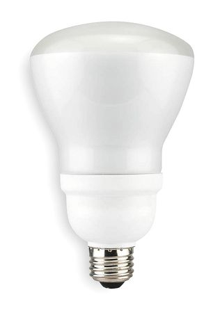 LUMAPRO 15W,  R30 Screw-In Fluorescent Light Bulb