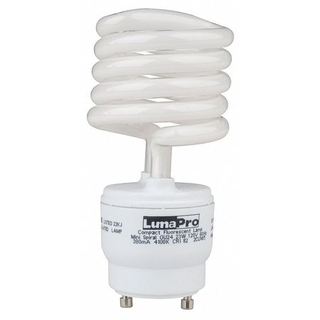 LUMAPRO 23W,  T3 Plug-In Fluorescent Light Bulb