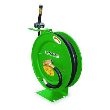 "Hose Reel, 3/8"" ID, 50 ft, Spring, HD"