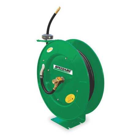 "3/4"" x 75 ft. Spring Return Hose Reel with Hose 300 psi"