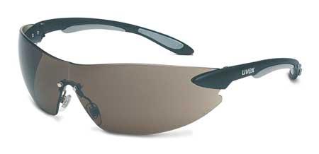 Honeywell Gray Safety Glasses,  Anti-Fog,  Wraparound