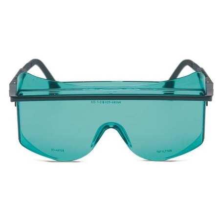 Laser Glasses, Lt Bl/Aqua, Scratch Rsistnt