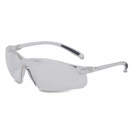 2TFW9 Safety Glasses, Clear, Scratch-Resistant