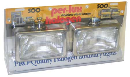 Fog and Driving Lamps, 500 Series, PK2