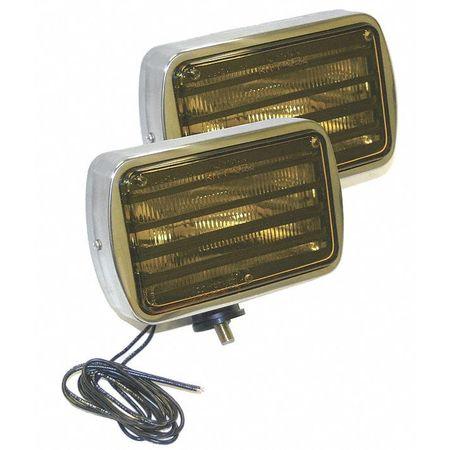 Fog/Driving Lamps, 600 Series, Yellow, PK2