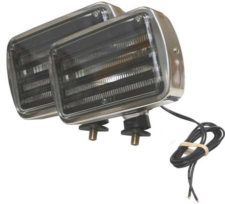 Fog/Driving Lamps, 600 Series, Clear, PK2