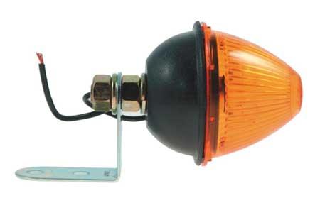 Lamp, Beehive, Fixed Angle, Yellow