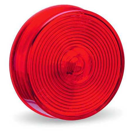 Clearance/Marker Lamp, Lens Optic, Red