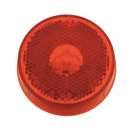 Marker Lamp, Reflector, 2-1/2 In, Red