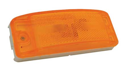 Clearance/Marker Lamp, Relfex Lens, Ylw