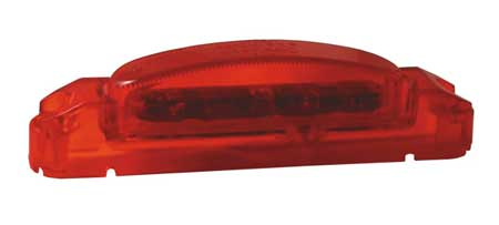 Clearance/Marker Lamp, Thin Line, LED, Red