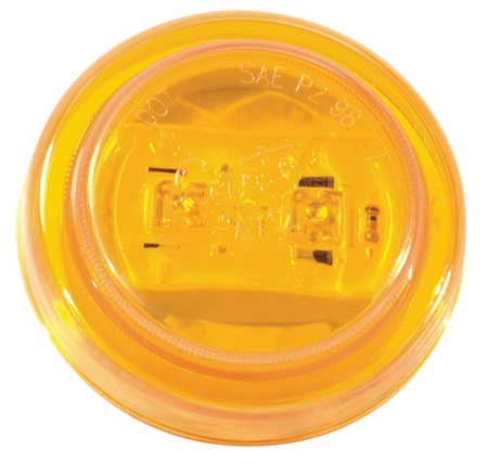 Clearance/Marker Lamp, 2.5In., LED, Yellow